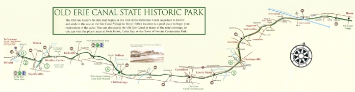map-erie canal